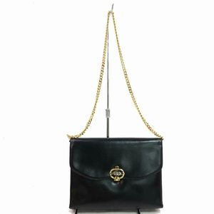 Gucci Black Leather Classic Chain Flap 870740